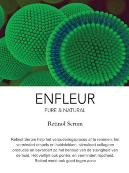 Infokaartje retinol serum 10 stuks