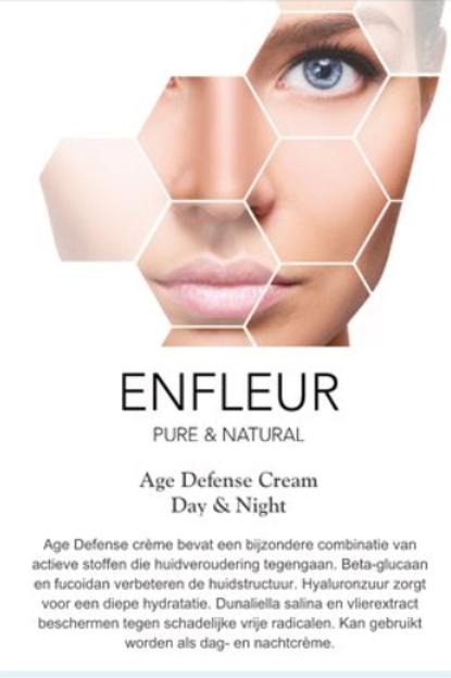 Infokaartje Age Defense Cream 10 stuks