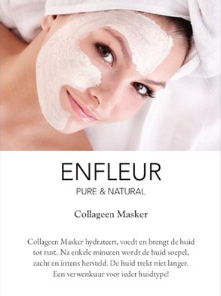 Infokaartje Collagen Masker 10 stuks