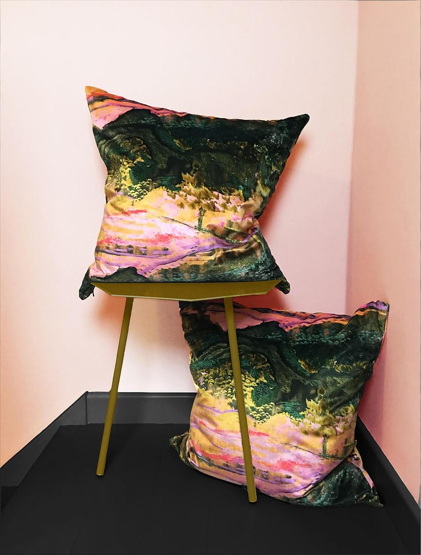 Dartmoor Velvet Cushions