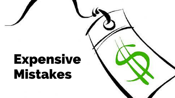 Expensive tax mistakes