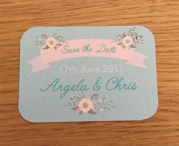Angela & Chris Save the Date