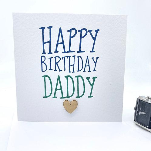 Happy Birthday Daddy Card