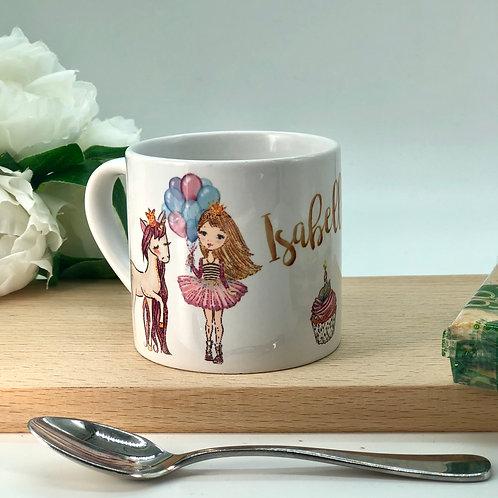 Personalised Kids Unicorn Mug