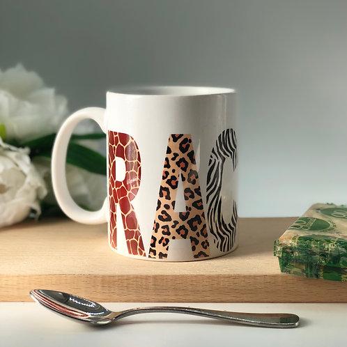Mixed Animal Print Mug