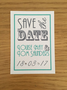 Louise & Tom Save the Date