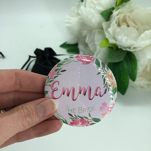 Watercolour Floral Hen Party Mirrors