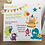 Thumbnail: 10 Cute Monster Personalised Party Invitations