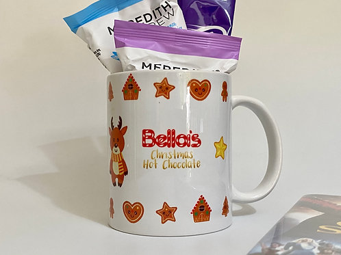 Kids Christmas Hot Chocolate Mug