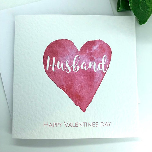 Personalised Valentines Day Card