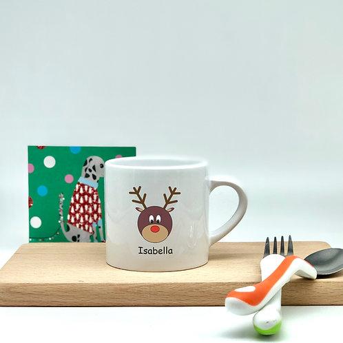 Kids Christmas Mug - Rudolph