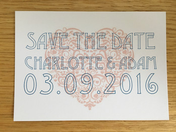 Charlotte & Adam Save the Date
