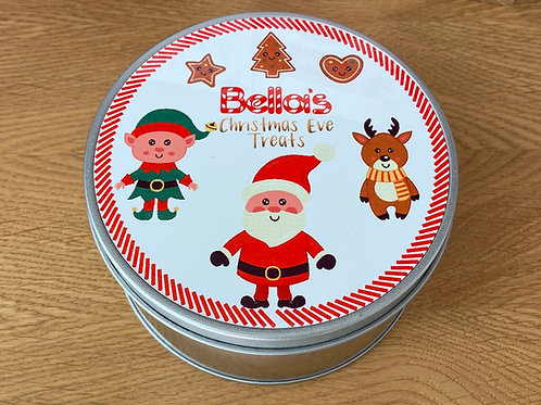 Christmas Eve Treats Tin