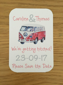 Campervan Save the Date