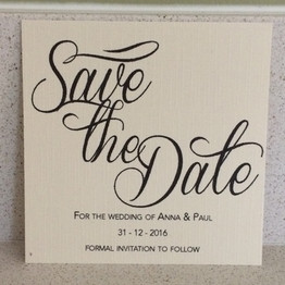 Anna & Paul Save the Date