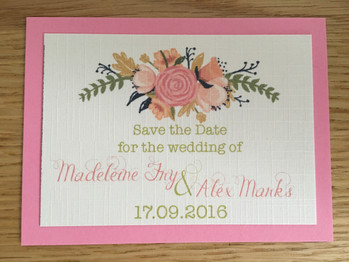 Maddy & Alex Save the Date