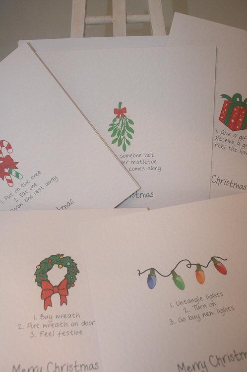 3 Steps to Christmas Card Packs (5)