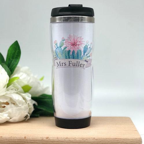 Cactus Travel Coffee Mug