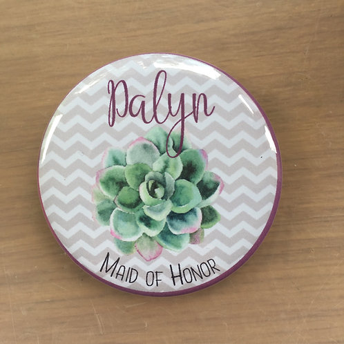 Succulent Hen Party Mirrors
