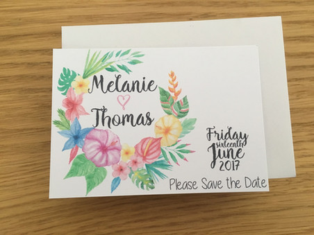 Mel & Tom Save the Date