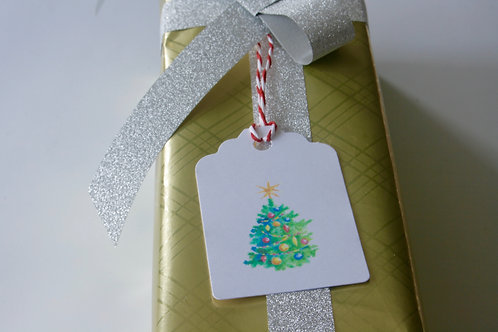 Hand Made Christmas Gift Tags