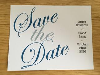 Grace & David Save the Date