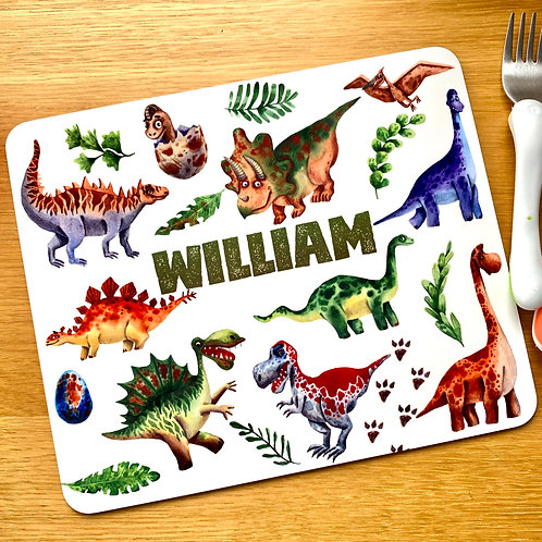 Scary Dinosaur Placemat