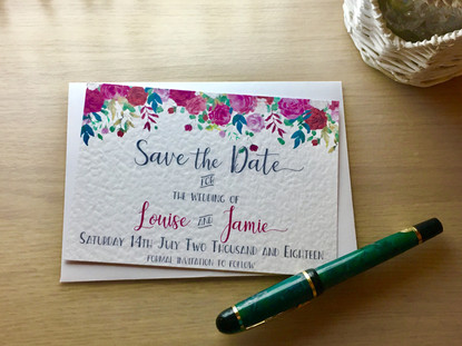 Louise & Jamie Save the Date