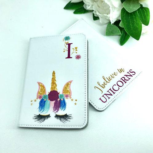Kids Unicorn Passport Cover