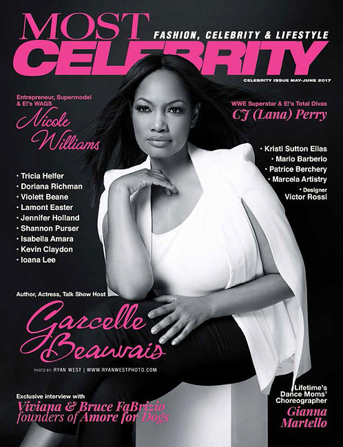 Most Magazine Celebrity May-June 2017 $50 donation