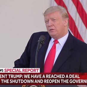 Trump ends Shutdown!