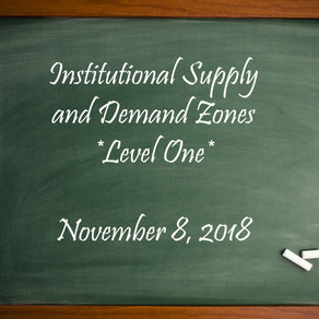 Finding Institutional Supply and Demand Zones - SPECIAL Classroom Session!