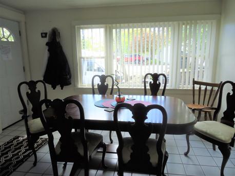 dining room at BFH2