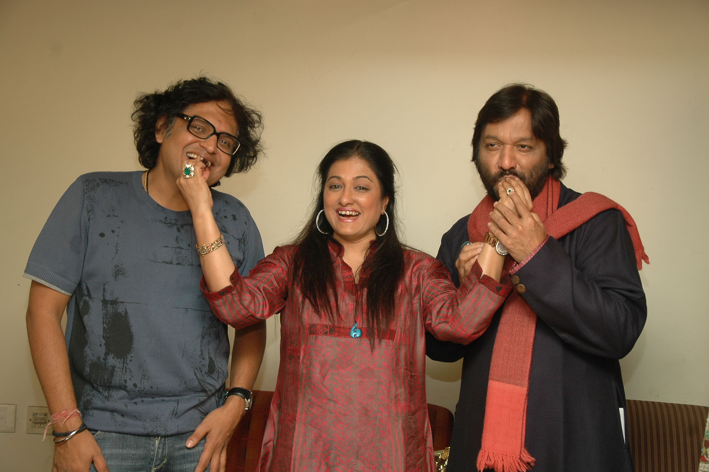with Roop Kumar Rathod & Sonali Rathod