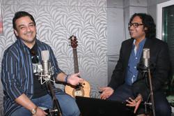 with Adnan Sami