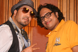 with Mika Singh