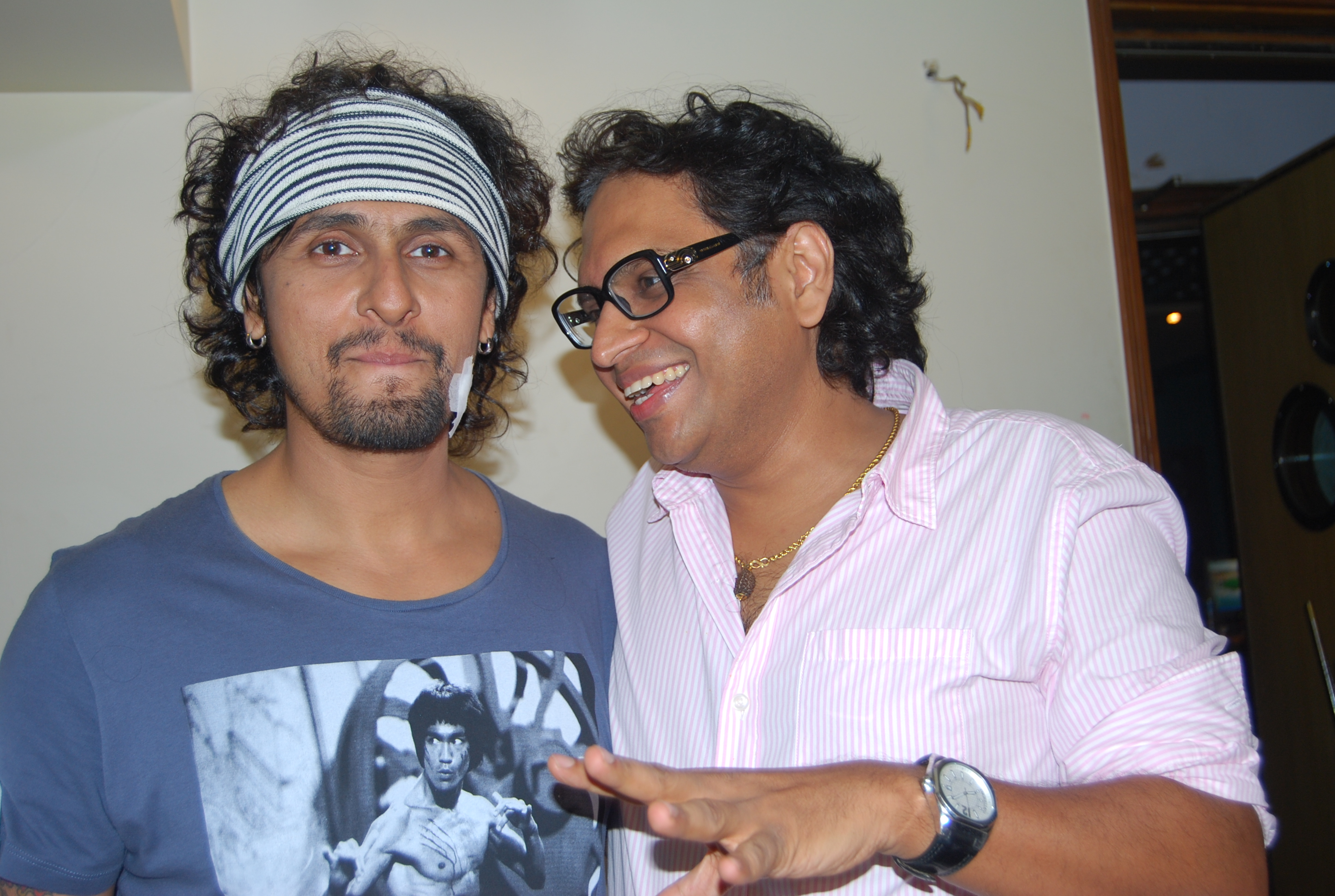 with Sonu Nigam