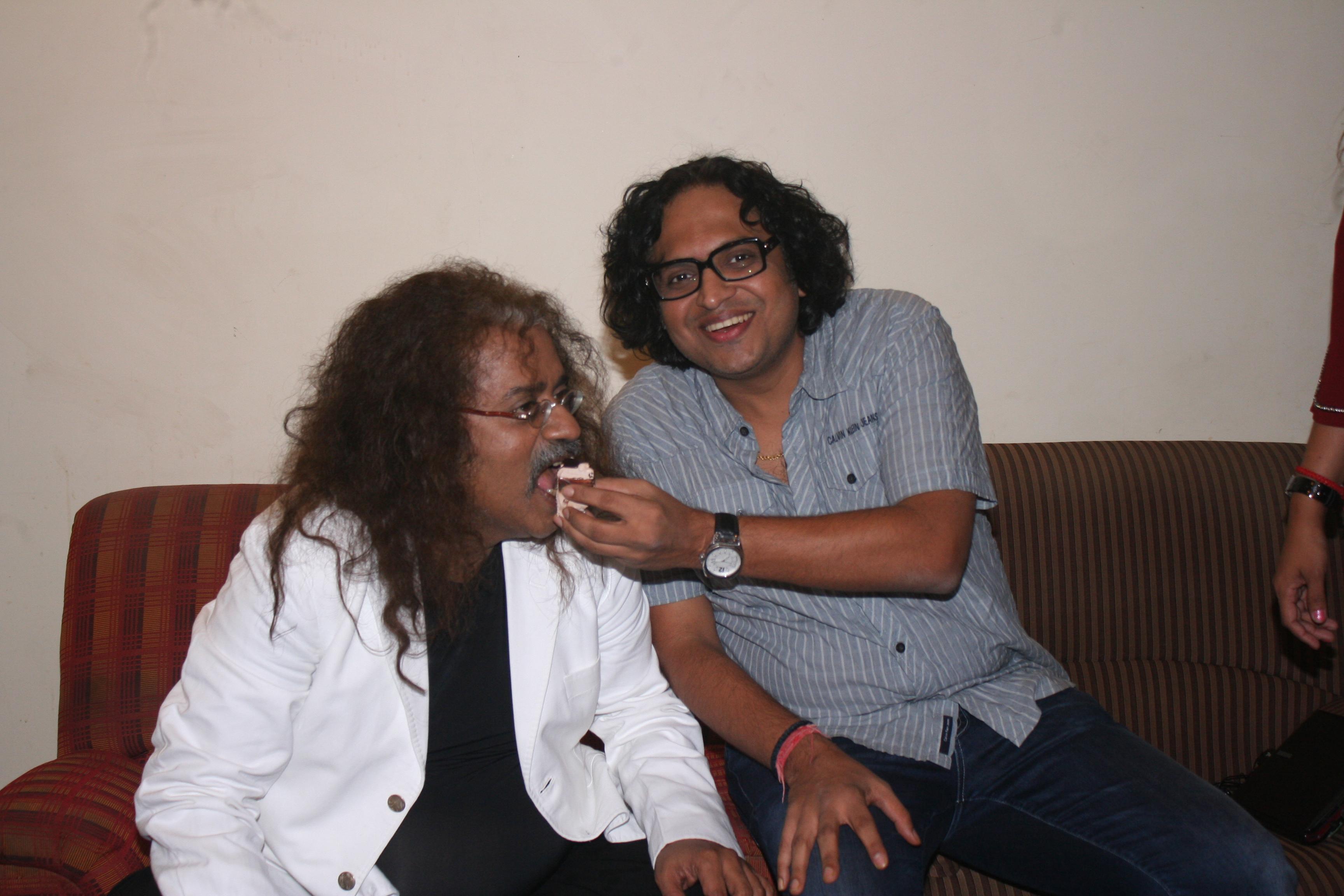 with Hariharan