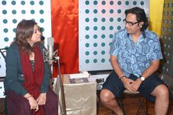 with Rekha Bhardwaj