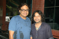 with Kailash Kher