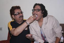 with Kumar Sanu