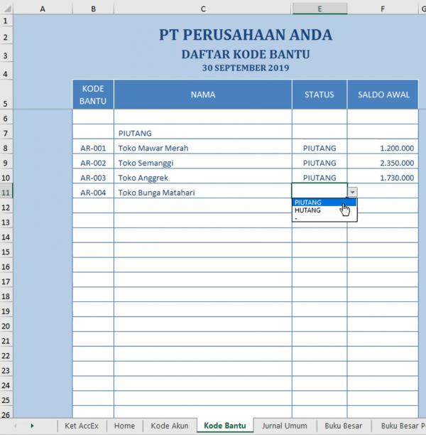 Laporan Keuangan Perusahaan Dagang 4