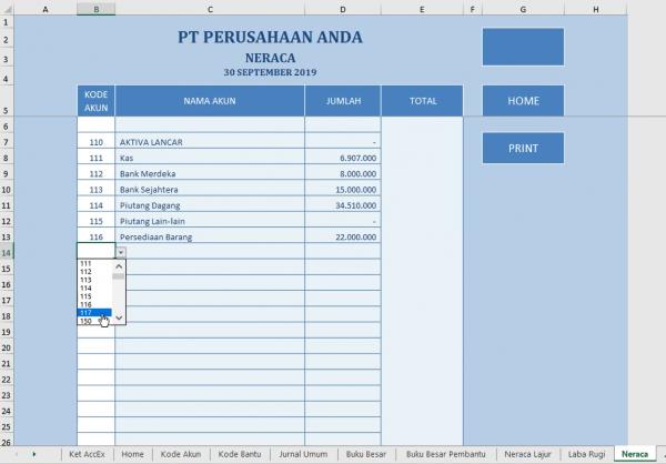 Laporan Keuangan Perusahaan Dagang 11