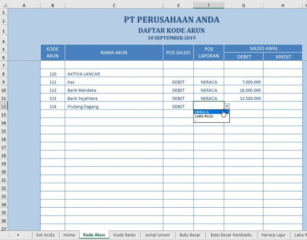 Laporan Keuangan Perusahaan Dagang 2