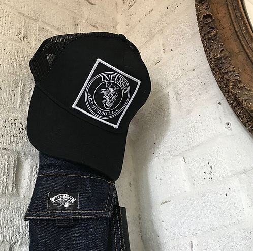 Trucker Hat Inferno Art Studio