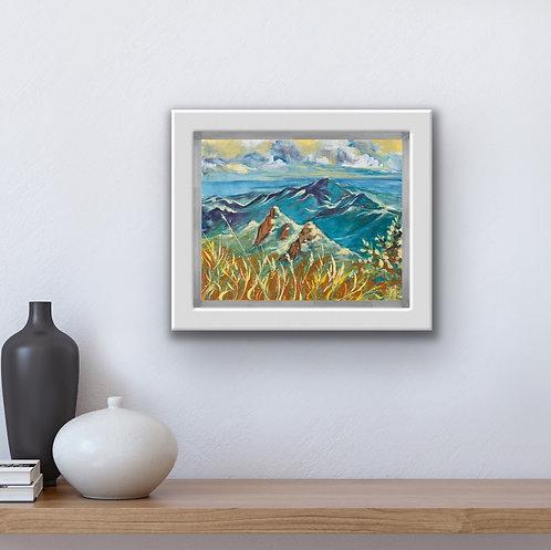 View From El Yunque Peak - Original Painting