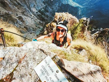 Scaling the Dolomites