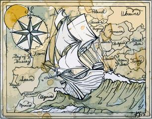 Ship and Compass.JPG