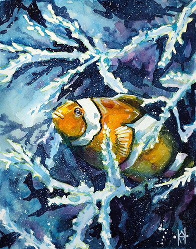 Clown Fish - Original Painting
