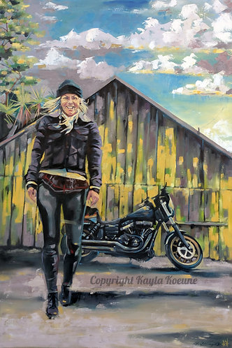 Fastest Woman Period - 80th Sturgis Limited Edition